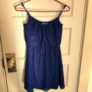 Navy lace dress by BaileyBlue